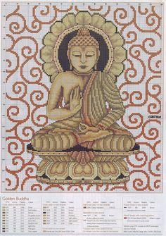 CURIOSA CORUJA: Gráfico Ponto Cruz - Buda