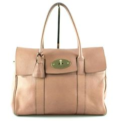 Mulberry Dusty Pink Bayswater GH RRP €1295 Pink Leather, Dusty Pink, Leather Handle, Dust Bag, Bags, Handbags, Dusty Rose, Taschen, Purse