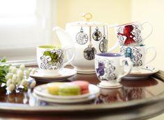 Veranstalte mit diesem bezaubernden Teeservice in limitierter Edition deine…