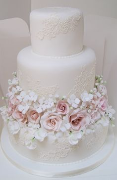 If you are looking a cake for your special day, our bespoke wedding cakes range . - If you are looking a cake for your special day, our bespoke wedding cakes range could be the answer - Diy Wedding Cake, Amazing Wedding Cakes, Wedding Cakes With Cupcakes, White Wedding Cakes, Wedding Cakes With Flowers, Elegant Wedding Cakes, Wedding Cake Designs, Rustic Wedding, Gorgeous Cakes