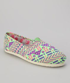 Take a look at this Green College 83 Slip-On Shoe by Yoki on #zulily today!