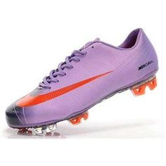 9addc490b Sale Nike Mercurial Vapor VI Superfly II FG Soccer Shoes Purple Black Red