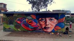 RAF & JOE ...VILLA EL SALVADOR - LIMA Street Smart, Lima, Explore, Painting, El Salvador, Limes, Painting Art, Paintings, Painted Canvas