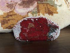 「ペタンコビーズ編みがま口」出来上がり    ビーズ編みで幸せ気分 - 楽天ブログ