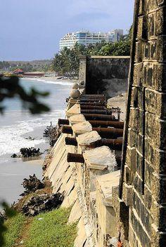 Cañones del Castillo San Carlos de Borromeo en Pampatar, Isla de Margarita, Venezuela