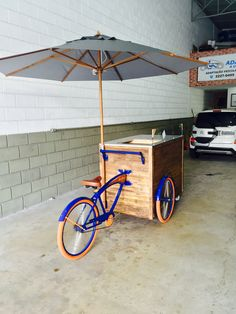 Coffee Carts, Coffee Truck, Coffee Shop Design, Cafe Design, Bici Fixed, Bicycle Cart, Beer Bike, Food Cart Design, Coffee Trailer