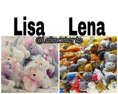 Lisa or lena? what do You choose? I choose lisa