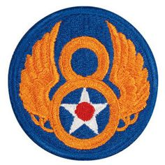 Eighth Air Force Army Military Patch by CantonCollectables on Etsy, $9.00