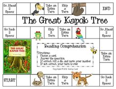 The Great Kapok Tree Game - download and print pdf file - Brazil - Amazon Rainforest