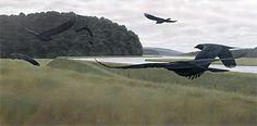 Seven Crows - Alex Colville This amazes me still...
