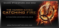 #HungerGames #CatchingFire #TheSpark will open to 152.4M
