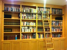 Choosing Bookcases Unit: Bookcase And Cabinet Hardwood Style With Stairs ~ General Ideas Inspiration