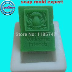 New design welcome friend shaped soap mold ,softer silicone soap mold for handmade soap making. Yesterday's price: US $10.66 (8.77 EUR). Today's price: US $10.66 (8.84 EUR). Discount: 32%.