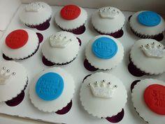 The Queen's Diamond Jubilee cupcake