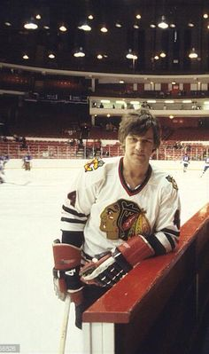 Orr with the Hawks.