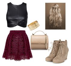 """""""Killing it Softly"""" by nicolemontes30 ❤ liked on Polyvore featuring Charlotte Russe and Givenchy"""