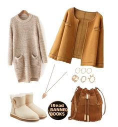 """""""& that's how a good autumn outfit should look like"""" by jessicamallot on Polyvore featuring UGG Australia, Vince Camuto and Pamela Love"""