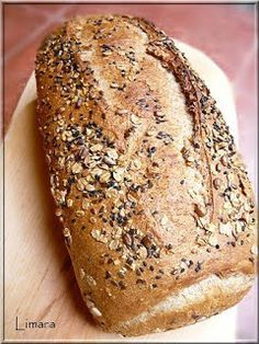Recipes, bakery, everything related to cooking. Pan Bread, Bread Baking, Rustic Bread, Types Of Bread, How To Make Bread, Sweet Bread, Cake Cookies, Banana Bread, Food And Drink
