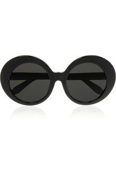 419ac13b7a5 Linda Farrow - Round-frame acetate sunglasses