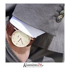 Wood Watch, Watches, Leather, Accessories, Jewelry, Fashion, Wooden Clock, Moda, Jewlery