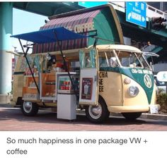 VW Bus+coffee....