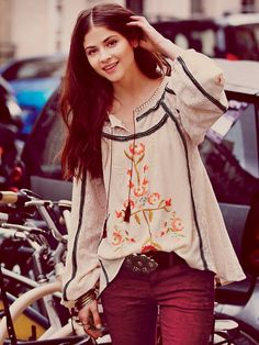 Free People Tiger Lily Top