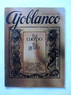 Coleccionismo de Revistas y Periódicos: AJOBLANCO LOTE DE 28 REVISTAS (1975/1977/1978+ NUEVA ÉPOCA (1988/1992)VER FOTOS Y DESCRIPCIÓN - Foto 17 - 67251977