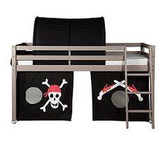 tente de lit mi haut pour enfant th me chevalier bleu marron chevalier les gigoteuses et. Black Bedroom Furniture Sets. Home Design Ideas