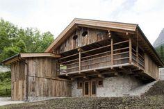 Architettura - fienile ristrutturato Selva di Cadore