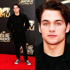 Dylan Sprayberry attends the 2016 MTV Movie Awards at Warner Bros. Studios on April 9.