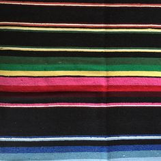 LA PLAYA Mexican Blanket | Gypsy Homewares | dosombre.com
