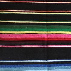 LA PLAYA Mexican Blanket | Gypsy Homewares | dosombre.com