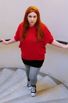 My friend Rachael as Amy Pond. It's scary how much she looks like Karen G.