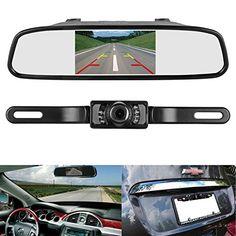 ZSMJ Backup Camera and Monitor Kit4.3 Car Vehicle Rearview Mirror Monitor for DVD/VCR/Car Reverse Camera  CMOS Rear-view License Plate Car Rear Backup Parking Camera With 7 LED Night Vision https://vehicledashcam.review/zsmj-backup-camera-and-monitor-kit4-3-car-vehicle-rearview-mirror-monitor-for-dvdvcrcar-reverse-camera-cmos-rear-view-license-plate-car-rear-backup-parking-camera-with-7-led-night-vision/