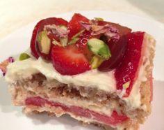 omg, Strawberry Watermelon Cake aka Thermomix wedding cake #recipe!