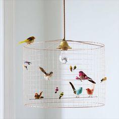 vogeltjes kinderlamp