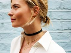 How to Effortlessly Pull Off The Choker Trend - Career Girl Daily