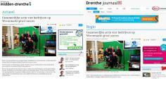 Leuke stukjes op de site van de Krant van Midden-Drenthe en het Drenthejournaal over de Woonmarkt afgelopen zaterdag 10 mei in het gemeentehuis in Beilen. http://www.dekrantvanmiddendrenthe.nl/ondernemen/actueel/322057/gezamenlijke-actie-vier-bedrijven-op-woonmarkt-groot-succes.html en http://www.drenthejournaal.nl/nieuws/regio/322057/gezamenlijke-actie-vier-bedrijven-op-woonmarkt-groot-succes.html