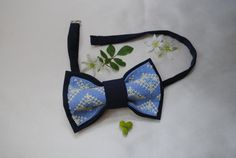 Hey, I found this really awesome Etsy listing at https://www.etsy.com/listing/202453670/free-shipping-embroidered-mans-bow-tie
