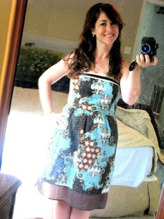 a penny for your closet: thrift store goodwill fashion...5.99 sleeveless dress