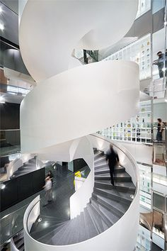 HASSELL | Projects - National Foods  Awesome Stair case