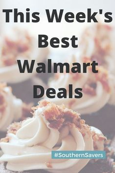 05a0a6008ac Here is a list of this week s top walmart deals. Ways To Save Money