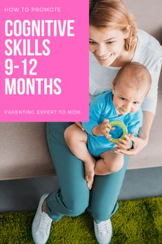 Are you wondering how to encourage cognitive skills from months? Find out what baby milestones to expect and simple ways to encourage them through daily routines. Infant play ideas that support baby learning are also included! Baby Activity Table, Best Baby Play Mat, Baby Information, Baby Learning, Baby Development, Baby Milestones, Infant Activities, Cool Baby Stuff, Frases