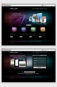 Diseño de interfaces web on Behance