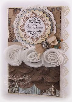 """You're So Sweet 2"""" Round Borders and Centers, along with set You Inspire Me. stamps"""