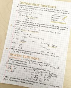 notes aesthetic math & notes aesthetic & notes aesthetic study inspiration & notes aesthetic ideas & n College Math, College Notes, School Organization Notes, Study Organization, Pretty Notes, Good Notes, Math Notes, Calculus Notes, Revision Notes