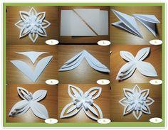 papírové vystřihovánky vánoce - Hledat Googlem