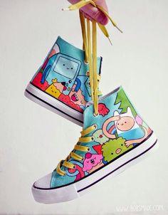 Jeito Simples de Ser: Tênis customizado: Os seus pés do seu jeito e do j...