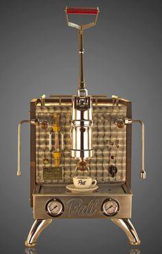 pull espresso machine