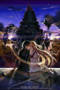 Esse casal é muito fofo ❤ Anime: Sword Art Online